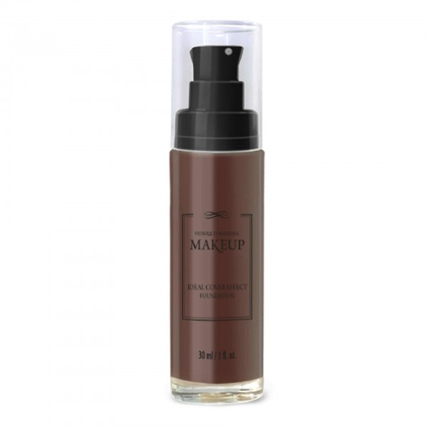 Ideal Cover Effect Foundation Dark Brown Federico Mahora Make Up